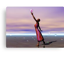 Reaching for a Cure Canvas Print