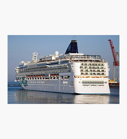 Large cruise liner Photographic Print