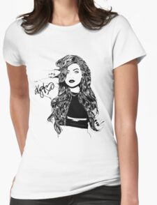 Kylie Jenner  Womens Fitted T-Shirt