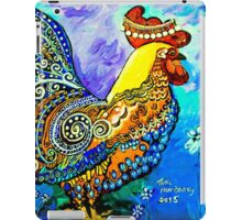 Crazy Chicken iPad Case/Skin