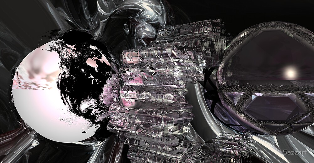 Racing Into Oblivion by Sazzart