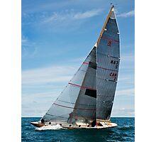 The Sun thru Norseman's Sails Photographic Print