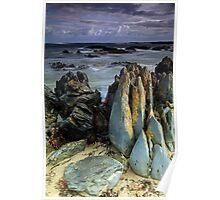 """Dramatic Rocks"" Poster"