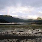 Daybreak over Kagan Bay, Haida Gwaii (British Columbia, Canada) by Edward A. Lentz