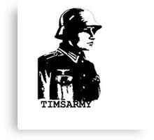 GERMAN ARMY Canvas Print
