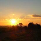 Moorish Sunset on top of the Wolds by nickspics