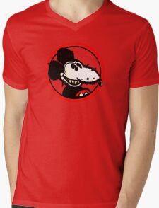 Mickey Rat Mens V-Neck T-Shirt