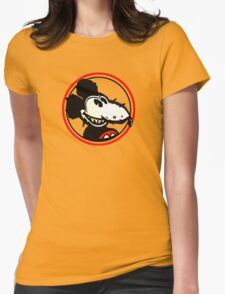 Mickey Rat Womens Fitted T-Shirt