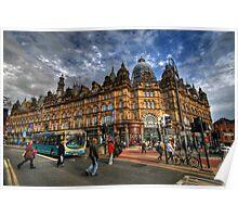 Leeds Kirkgate Market Poster