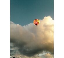In The Clouds Photographic Print