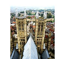 Lincoln Cathedral Tower Tour Photographic Print