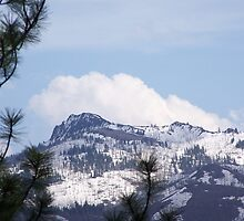 Monument Rock Wilderness in the Clouds by BettyEDuncan
