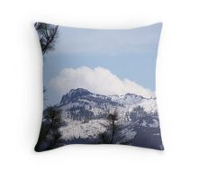 Monument Rock Wilderness in the Clouds Throw Pillow
