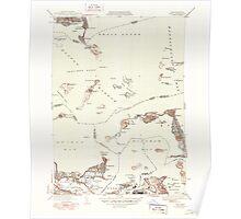Massachusetts  USGS Historical Topo Map MA Hull 351809 1946 31680 Poster