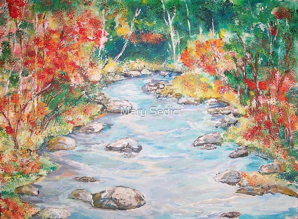 Autumn Creek  by Mary Sedici