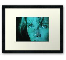 TV Me Framed Print