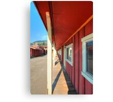 Red Frontier  Canvas Print