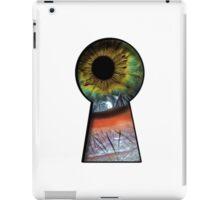 Eye in the KeyHole iPad Case/Skin