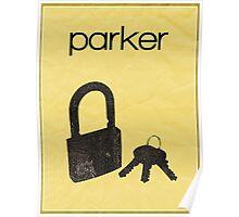 Parker (Leverage) minimalist poster Poster