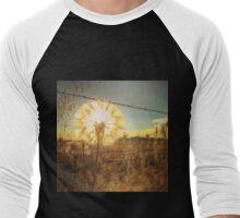 Illuminated Dandelion  Men's Baseball ¾ T-Shirt