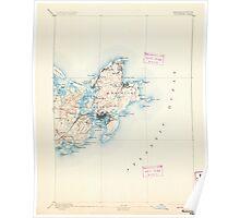 Massachusetts  USGS Historical Topo Map MA Gloucester 352701 1893 62500 Poster