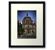 St Paul's Cathedral - London Framed Print