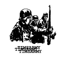 WW2 GERMAN ARMY Photographic Print