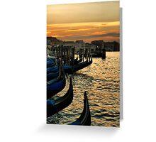 Buon Giorno Venezia Greeting Card