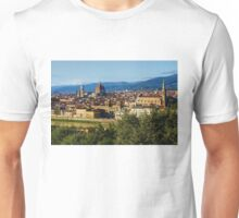Impressions Of Florence - a View From the Top Unisex T-Shirt
