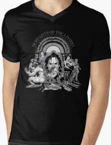 Servants of the Living Mens V-Neck T-Shirt