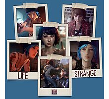 Life Is Strange - Photo Collage Photographic Print