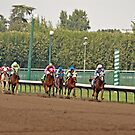 Full Speed Down the Stretch by Buckwhite
