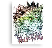 WOLFPUNK Canvas Print