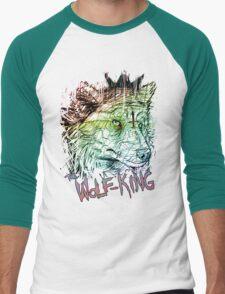 WOLFPUNK Men's Baseball ¾ T-Shirt