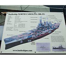 Battleship NC Photographic Print