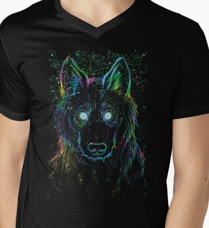 galaxy eater Mens V-Neck T-Shirt