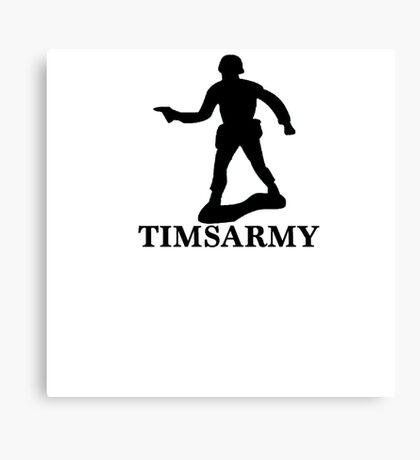 ARMY MAN Canvas Print