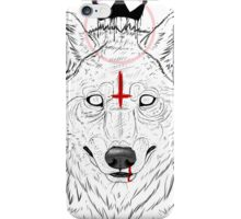 The Wolf King iPhone Case/Skin