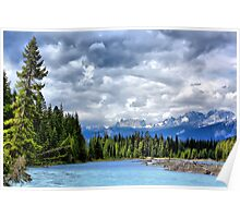 Kootenay National Park Scenery, BC, Canada Poster