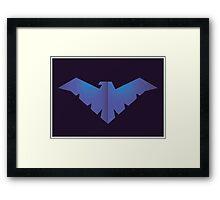 Bird of the Night Framed Print