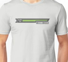 SAO - Sword Art Online - How Much I Care Health Bar Unisex T-Shirt