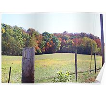 ACROSS THE BARB WIRE FENCE Poster
