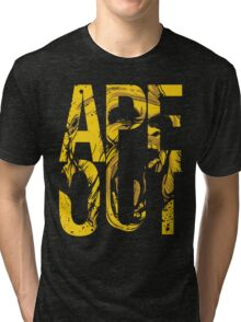 Discreetly Greek :: Alpha Phi Alpha :: APE OUT Tri-blend T-Shirt