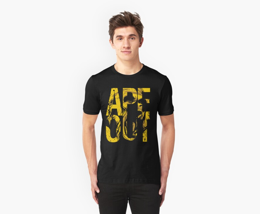 Discreetly Greek :: Alpha Phi Alpha :: APE OUT by integralapparel
