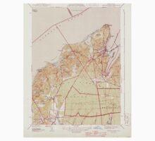 Massachusetts  USGS Historical Topo Map MA Vineyard Haven 352283 1944 31680 One Piece - Long Sleeve