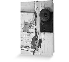 Door to Past Future Greeting Card