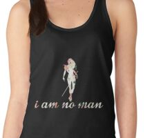 I Am No Man Women's Tank Top