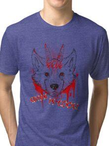 SATAN IS COOL Tri-blend T-Shirt