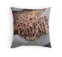 Termite Dung Throw Pillow