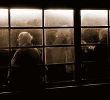 Bus Stop (Sepia) by Mojca Savicki